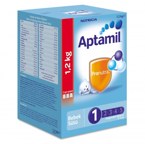 Aptamil Aptamil 1 - 1200 gr Devam Sütü (SKT'li)