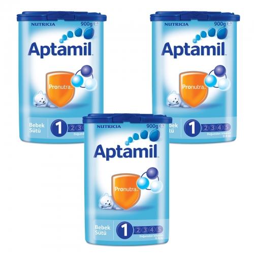 Aptamil Aptamil 1 - 900 Gr Bebek Sütü X 3 Adet (SKT'li)