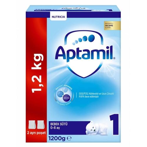 Aptamil Aptamil 1 - 1200 gr Devam Sütü