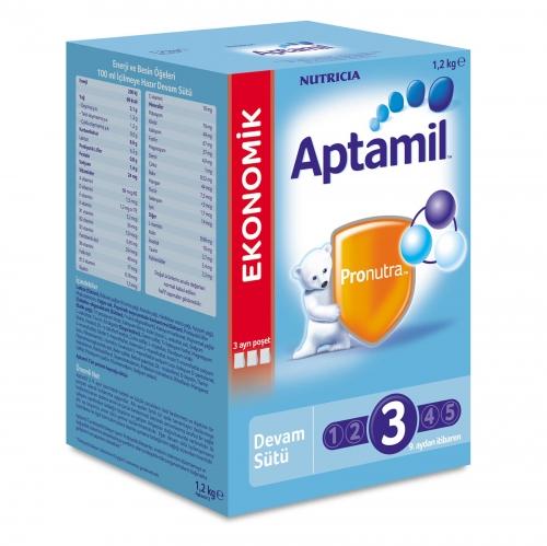 Aptamil Aptamil 3 - 1200 gr Devam Sütü  (SKT'li)