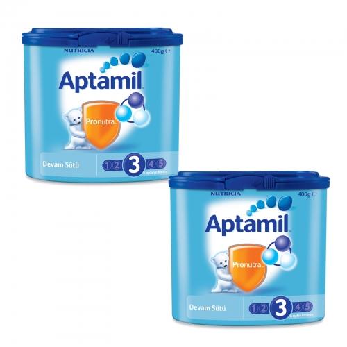 Aptamil Aptamil 3 - 400 gr Devam Sütü X 2 Adet (SKT'li)