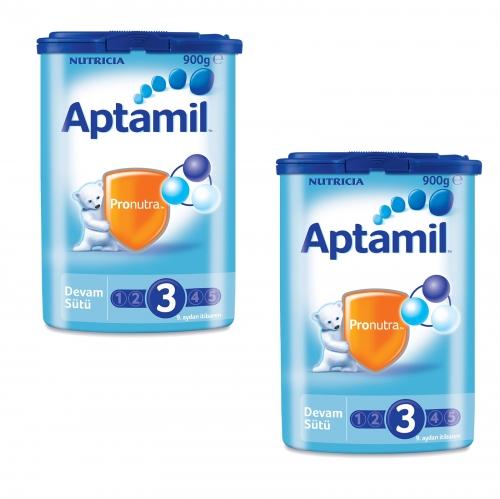 Aptamil Aptamil 3 - 900 Gr Devam Sütü X 2 Adet (SKT'li)