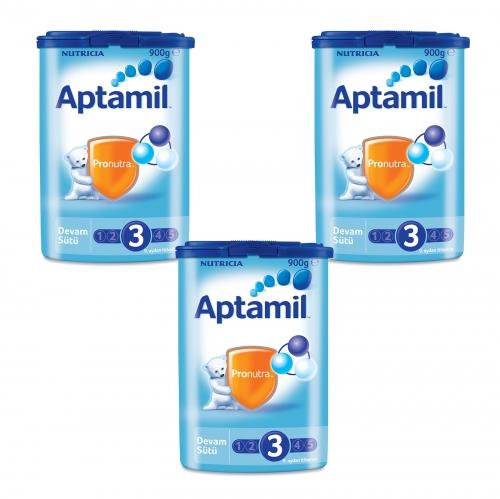 Aptamil Aptamil 3 - 900 Gr Devam Sütü X 3 Adet (SKT'li)