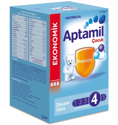 Aptamil Aptamil 4 - 1200 gr Çocuk Sütü (SKT'li)