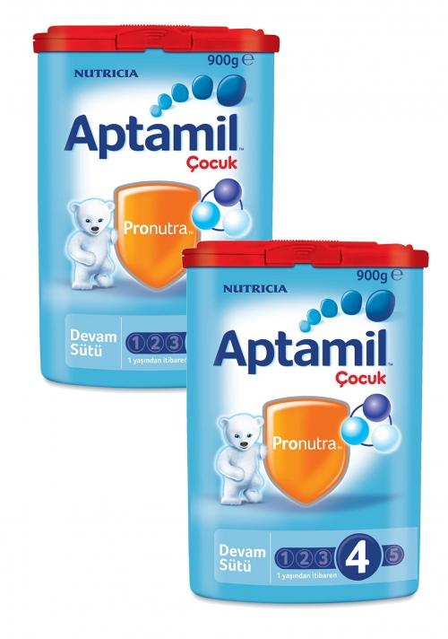 Aptamil Aptamil 4 - 900 gr Çocuk sütü x 2 Adet (SKT'li)