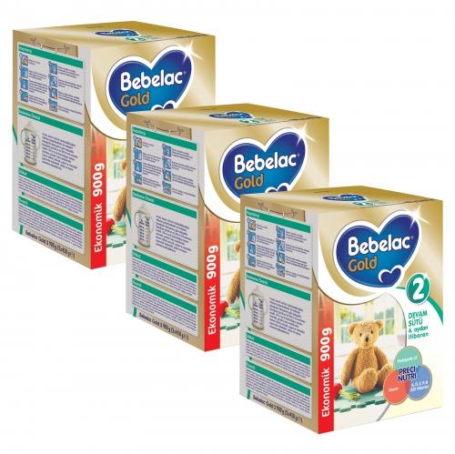 Bebelac Bebelac Gold 2 - 900 GR Bebek Maması X 3 Adet (SKT'li)