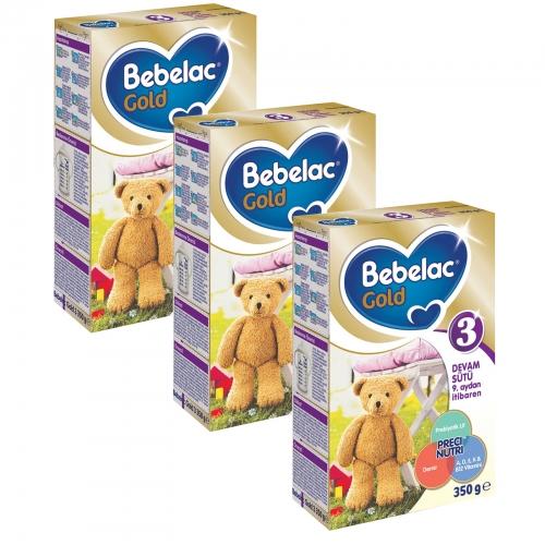 Bebelac Bebelac Gold 3 - 350 GR X 3 Adet (1050 Gr) (SKT'li)