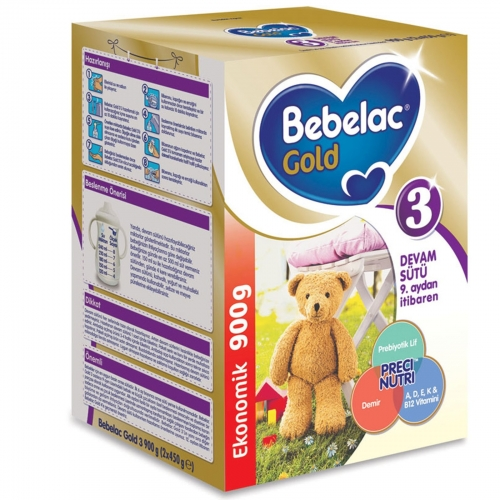 Bebelac Bebelac Gold 3 - 900 Gr Devam Sütü