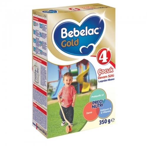 Bebelac Bebelac Gold 4 - 350 Gr Çocuk Devam Sütü (SKT'li)