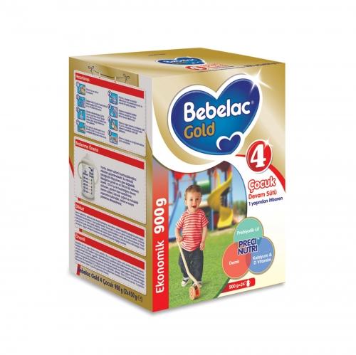 Bebelac Bebelac Gold 4 - 900 GR Çocuk Devam Sütü (SKT'li)