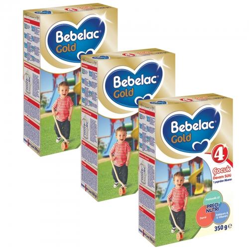 Bebelac Bebelac Gold 4 - 350 Gr Çocuk Devam Sütü X 3 Adet (1050 Gr) (SKT'li)