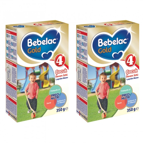 Bebelac Bebelac Gold 4  - 350 Gr Çocuk Devam Sütü X 2 Adet (SKT'li)