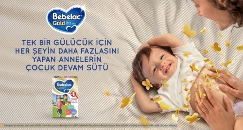 Bebelac Bebelac Gold 4 - 350 Gr Çocuk Devam Sütü X 4 Adet (1400 Gr) (SKT'li)