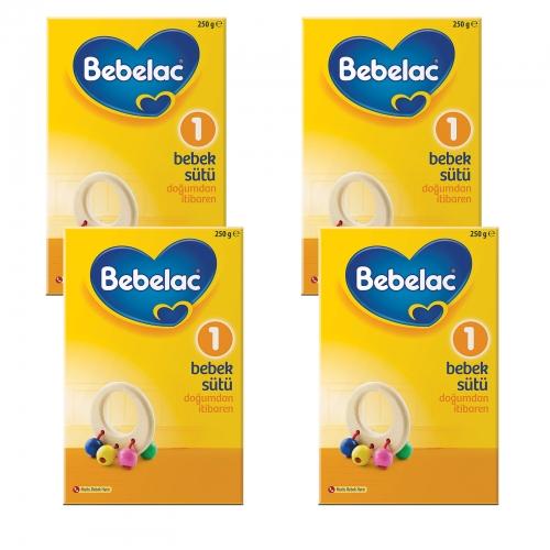 Bebelac Bebelac 1 - 250 gr Bebek Sütü X 4 Adet (1000 Gr) (SKT'li)
