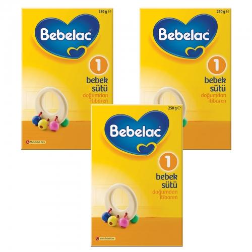 Bebelac Bebelac 1 - 250 gr Bebek Sütü X 3 Adet (750 Gr) (SKT'li)