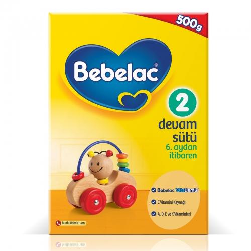 Bebelac Bebelac 2 - 500 Gr Devam Sütü (SKT'li)