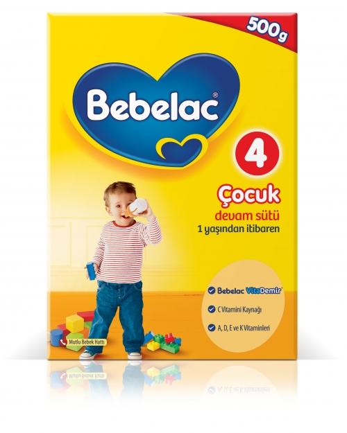 Bebelac Bebelac 4 - 500 Gr Çocuk Devam Sütü
