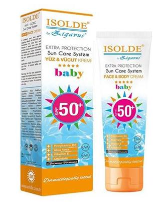 Isolde Isolde Baby Güneş Kremi - 50+ SPF - 100 Ml