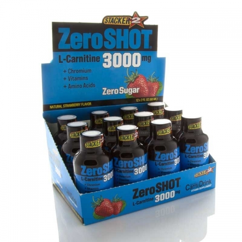 ZeroShot Zero Shot 60 ML 3000Mg L-Carnitine 12 Adet