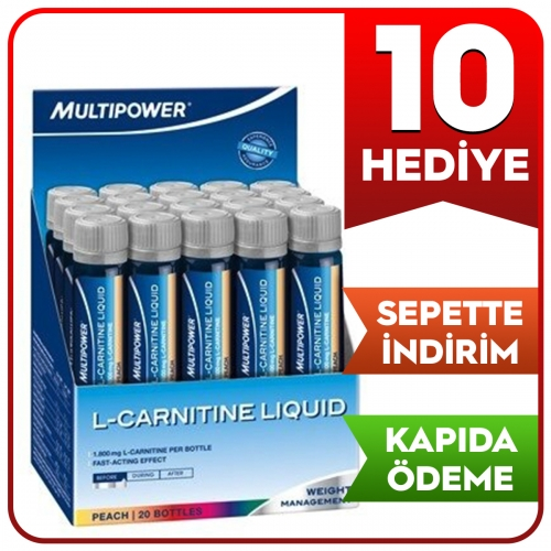 Multipower Multipower L-Carnitine Liquid Forte 1800 Mg 20 Ampül