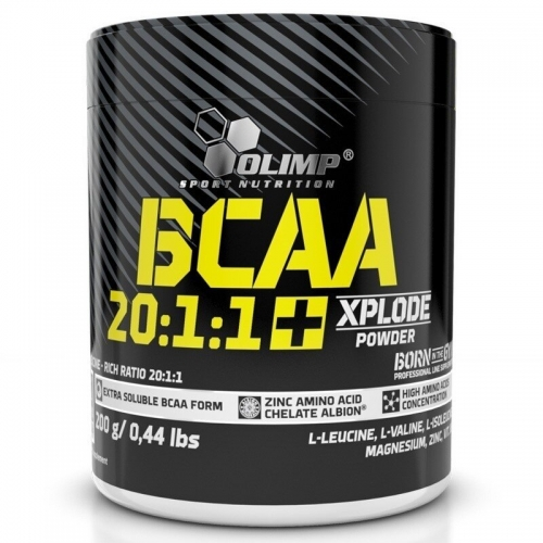 Olimp Olimp BCAA 20:1:1 + Xplode Powder 200 Gr