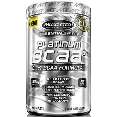 Muscletech Muscletech Essential Series Platinum BCAA %100 8:1:1 200 Tablet