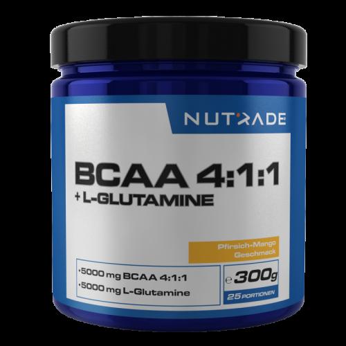 Nutrade Nutrade BCAA 4:1:1 +L-GLUTAMINE 300 gr