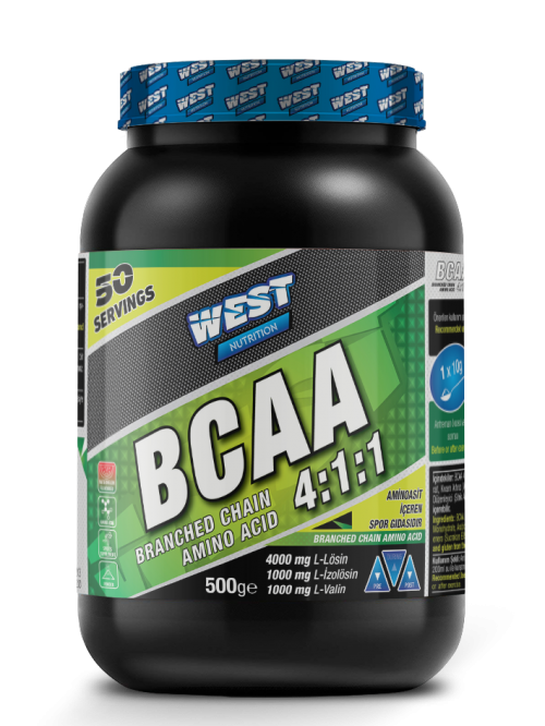 West West BCAA 4:1:1 POWDER 500 GR 50 SERVİS