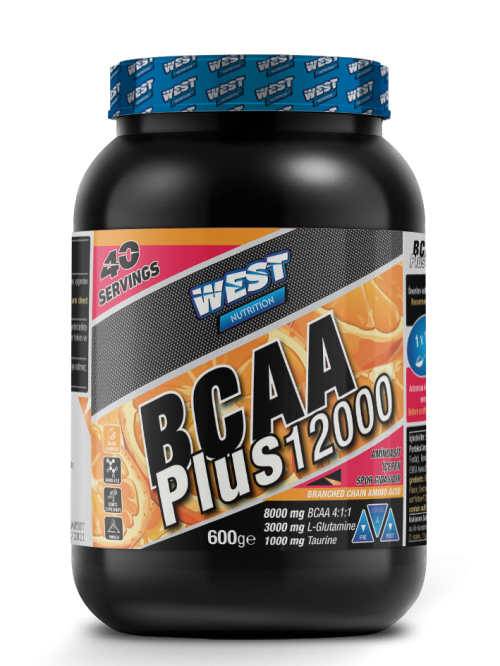 West West BCAA PLUS 12000 GLUTAMİN TAURİN 40 SERVİS