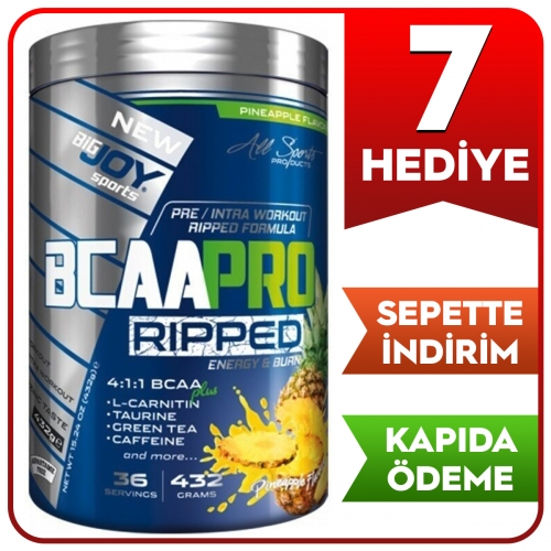BigJoy Big Joy Bcaa Pro 4:1:1 Ripped 432 Gr