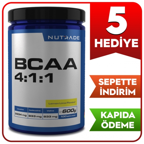 Nutrade Nutrade BCAA 4:1:1 600gr - 100 Servis