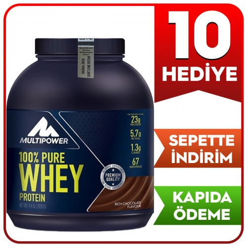 Multipower Multipower %100 Pure Whey Protein 2000 Gr