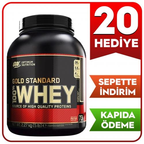 Optimum Optimum Gold Standard Whey Protein Tozu 2273 Gr - Çikolata Aromalı
