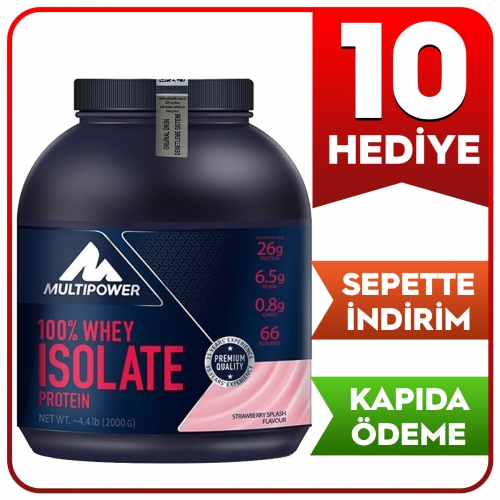Multipower Multipower %100 Whey Isolate Protein 2000 Gr