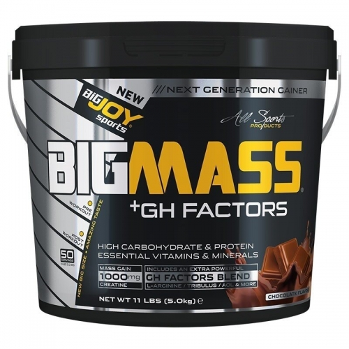 BigJoy Big Joy Big Mass +GH Factors 5000 Gr