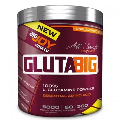 BigJoy Big Joy Gluta Big %100 Glutamine Powder 300 Gr
