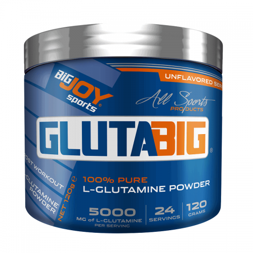 BigJoy Big Joy Gluta Big % 100 Glutamine Powder 120 Gr