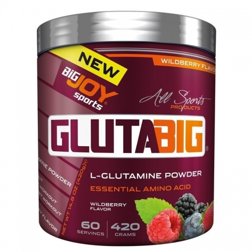 BigJoy Big Joy Gluta Big % 100 Glutamine Powder 420 Gr