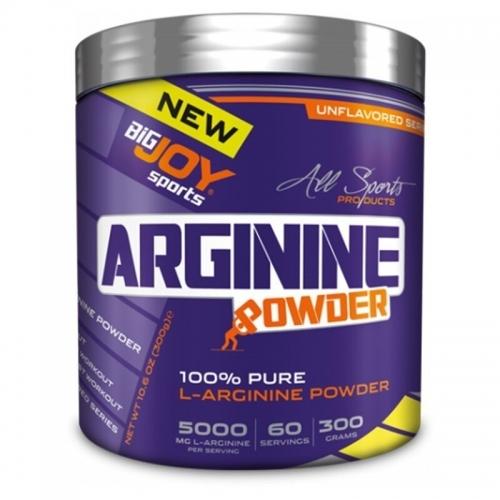 BigJoy Big Joy 100 % Pure L-Arginine Powder 300 Gr