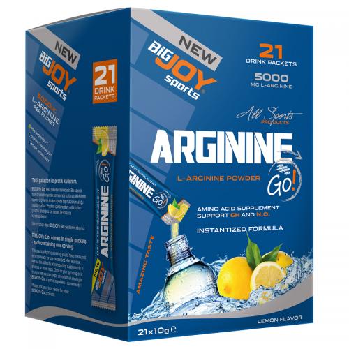 BigJoy Big Joy Arginine Go! 21 Drink Packets