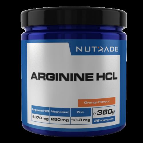 Nutrade Nutrade Arginine HCI 360 Gr