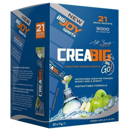 BigJoy Big Joy Crea Big Go! 21 Drink Packets