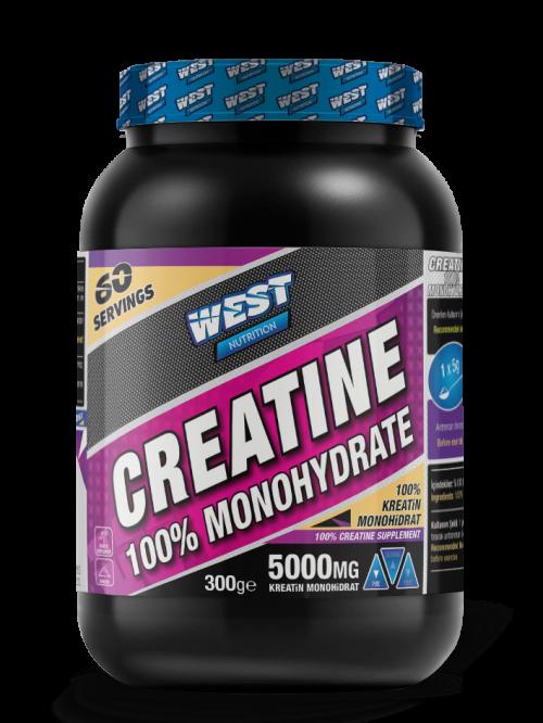 West West Kreatin Monohidrat 300 Gr 60 Servis