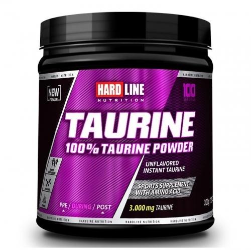 Hardline Hardline Taurine 100% Powder 300 Gr