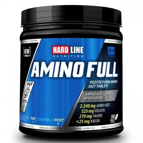 Hardline Hardline Amino Full 300 Tablet