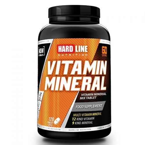 Hardline Hardline Vitamin Mineral 120 Tablet