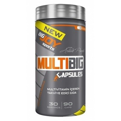BigJoy Big Joy Sports Multibig Vitamin Mineral 90 Kapsül