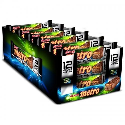 Ülker Ülker Metro Protein Bar 50 Gr 18 Adet
