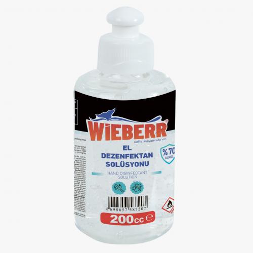 Wieberr Wieberr 200 ML El Dezenfektan Solüsyonu