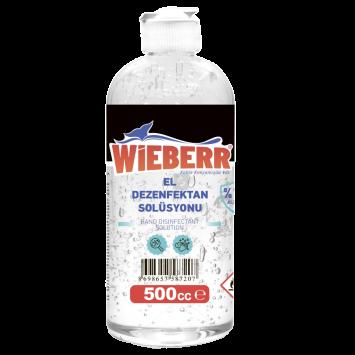 Wieberr Wieberr 500 ML El dezenfektan Solüsyonu